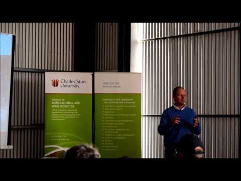 Ben Watts and drones at Mixed Farming Forum for the Future - Forbes 2015