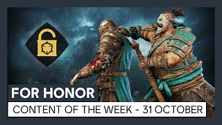 FOR HONOR - CONTENT OF THE WEEK - 31 OCTOBER