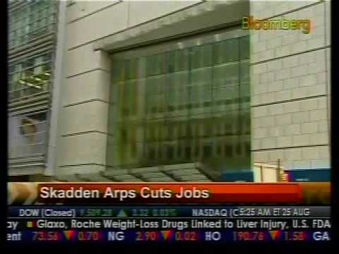 Skadden Arps Cuts Jobs - Bloomberg