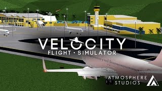 Velocity Flight Simulator ROBLOX [Airbus a319] [Full Flight TXKF - TNCC] [720p 60fps]