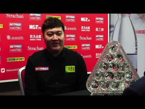Yan Crowned Betfred Masters Champion!