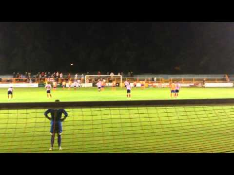 Braintree 1-3 Lincoln City, Lincoln Penalty Goal