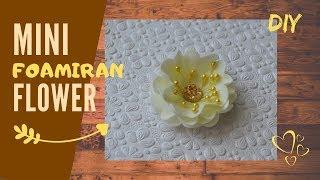 Mini flower NO.1 I Foamiran flowers for cards