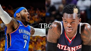 (Breaking News) Carmelo Anthony traded to ATL Hawks & Schroder to OKC | Melo to Lakers or Rockets?