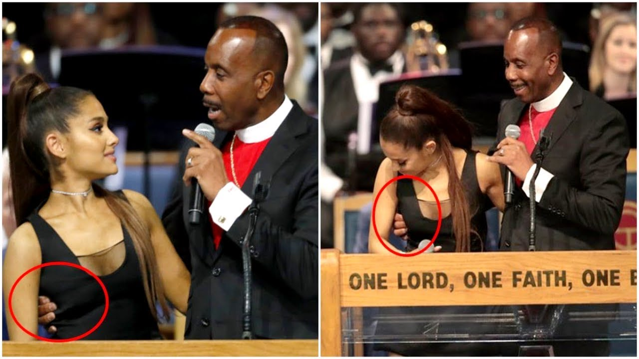 """Pastor Accused Of Groping Ariana Grande Apologizes For Being """"Too Friendly""""."""