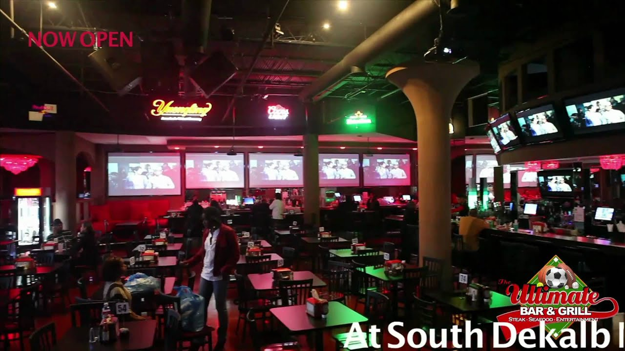 ULTIMATE bar and grill south dekalb mall