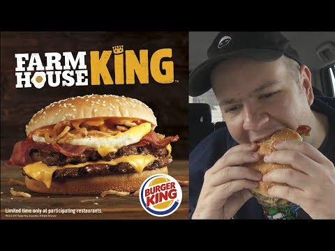 Burger King Farmhouse King Review - CarBS