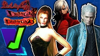Devil May Cry 1, 2, & 3 Review