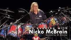 An evening with Iron Maiden drummer Nicko McBrain [FULL SHOW]