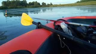 Ловля карася на удочку с лодки