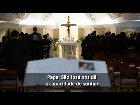 Papa: São José nos dê a capacidade de...