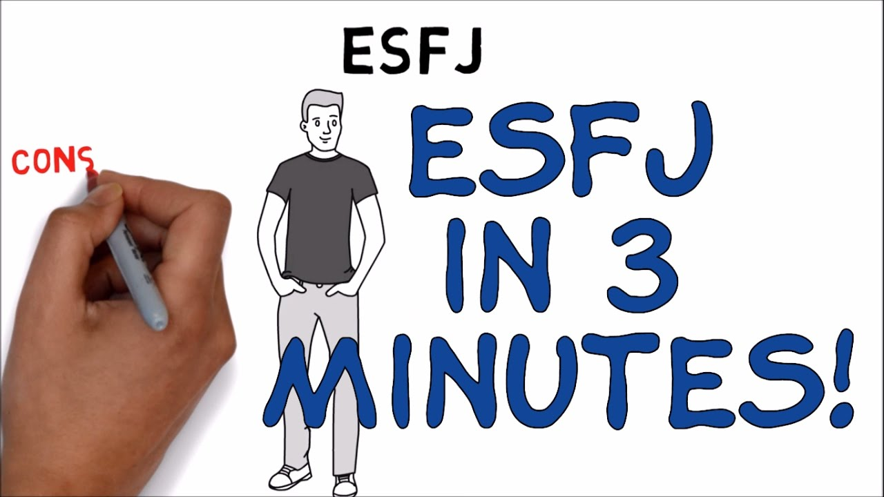 ESFJ - THE PROVIDER MBTI The Myers & Briggs 16 Personality Types ( Personality Test) ANIMATION - YouTube