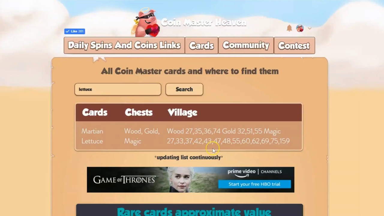 Coin Master Links 20