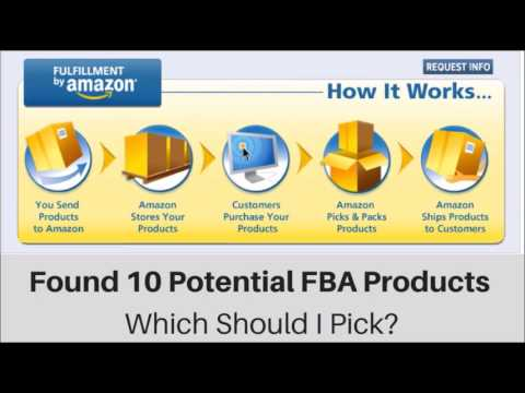 How to Narrow Down Your List of Potential Amazon FBA Products to Sell?