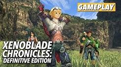 Xenoblade Chronicles: Definitive Edition - Gameplay Comparison | Kotaku