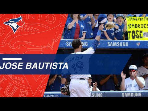 Jose Bautista's best moments from time with the Blue Jays