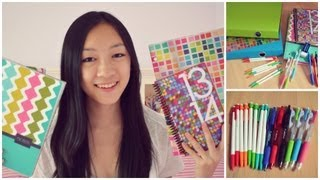 Repeat youtube video Back to School Supplies Haul! 2013