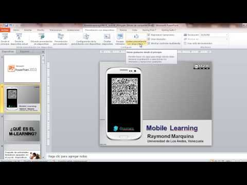Crear un Slidecast con PowerPoint