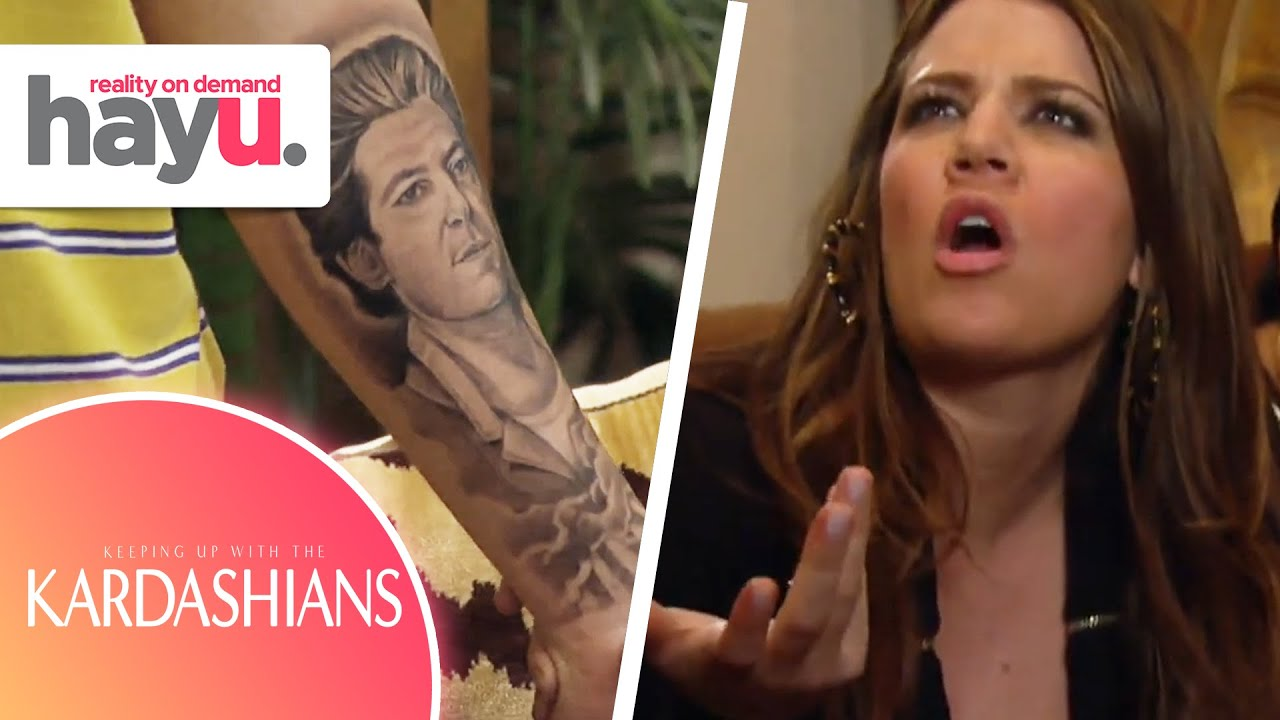 Download Khloé & Kris FREAK Over Giant Robert Kardashian Tattoo   Season 3   Keeping Up With The Kardashians