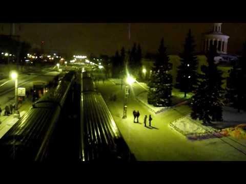 отправление поезда № 17 Карелия (Петрозаводск - Москва)