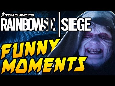 Tom Clancy's Rainbow Six Siege Gameplay | FUNNY MOMENTS | STAR WARS!