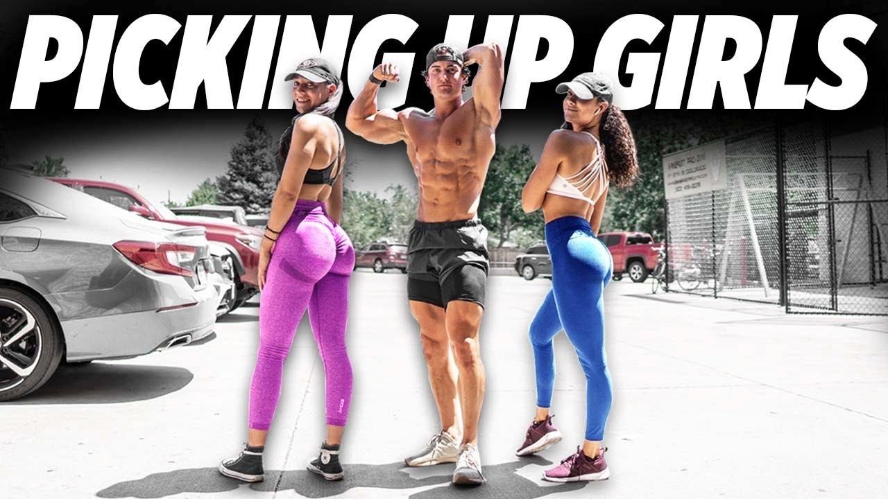 PICKING UP GIRLS AT THE GYM   ASKING GIRLS TO WORKOUT
