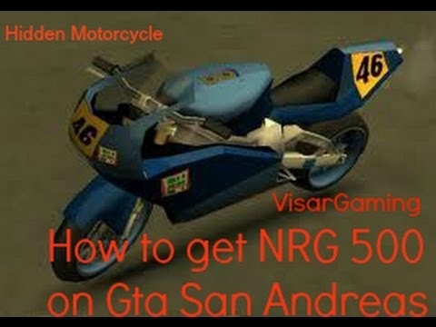 Gta San Andreas: How to Get the Hidden Motorcycle - YouTube