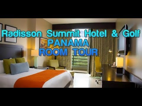 Radisson Summit Hotel & Golf Panama ROOM TOUR