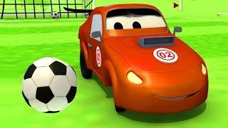 La Super Patrulla: camión de bomberos Patrulla de policía: Tyler hace trampa en el fútbol Auto City
