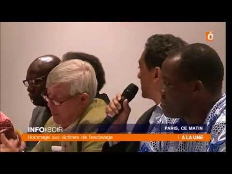 COMECLA - Conférence de presse de la Fondation Esclavage et Réconciliation - Reportage JT France Ô