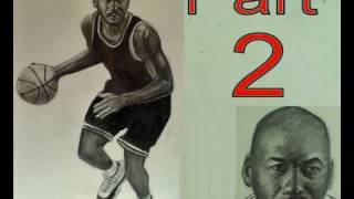 How to Draw Michael Jordan Step by Step Part 2
