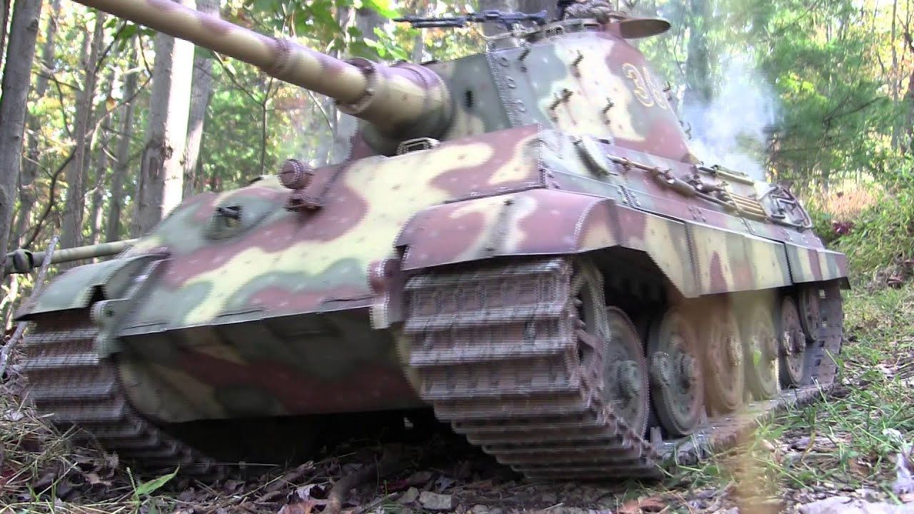 1 6th Scale King Tiger Tanks In Battle Youtube