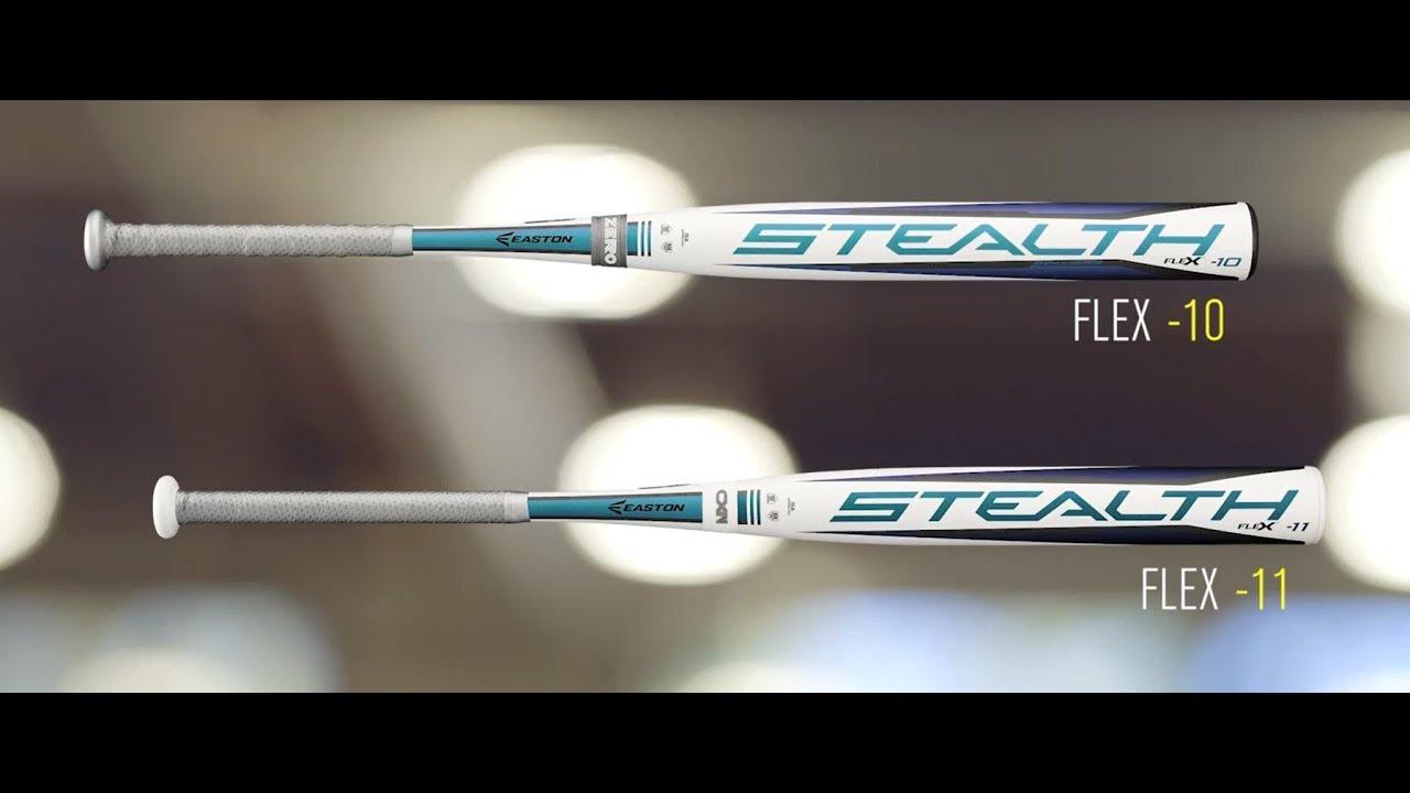 Easton Stealth Flex Fastpitch Softball Bats | 2018 Tech Video