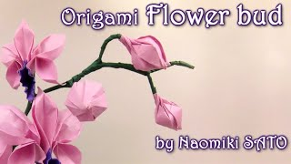 Origami Flower bud by Naomiki SATO - Yakomoga Origami tutorial Mp3
