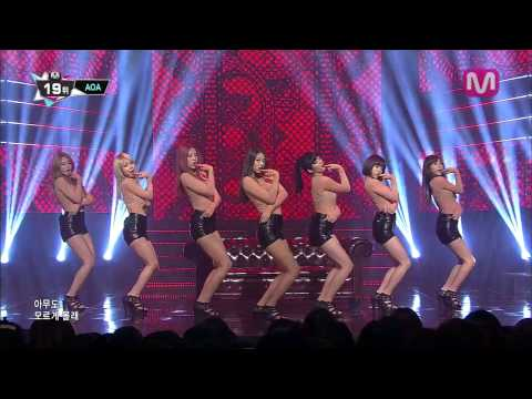 AOA_흔들려 (Confused by AOA of Mcountdown 2013.10.17)
