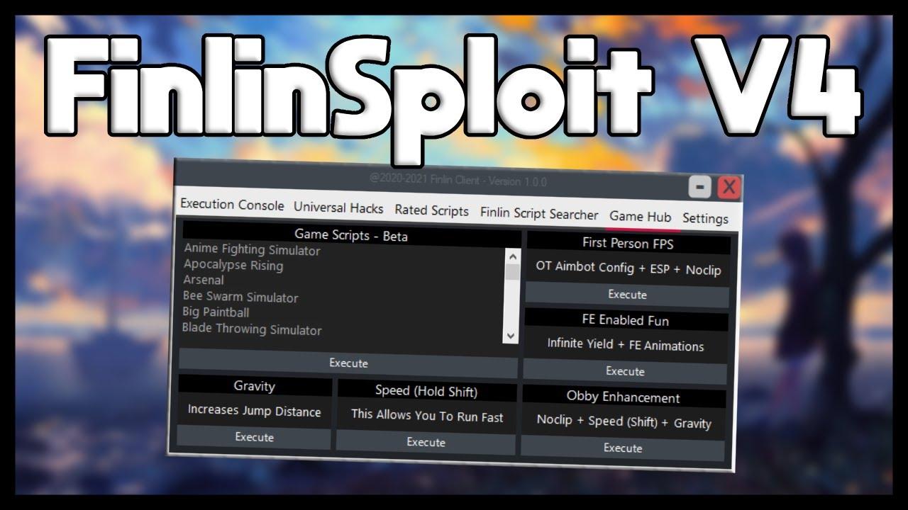 Best Free Roblox Exploit | FinlinSploit V4 | 2021