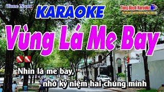 Vùng Lá Me Bay Karaoke 123 HD - Nhạc Sống Tùng Bách
