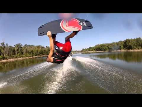 2012 texas wakeboarding lake lewisville river go pro