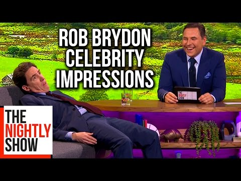 Rob Brydon's Celebrity Impressions Are Amazing | The Nightly Show