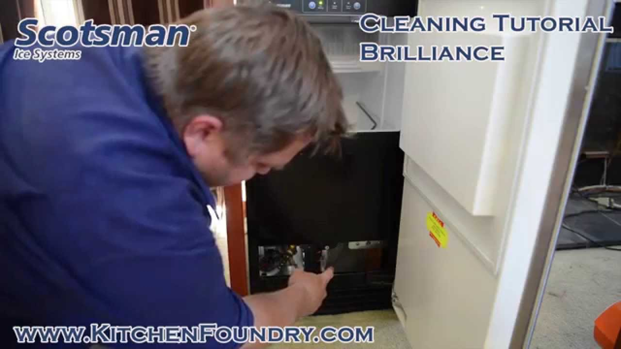 how to clean scotsman sccp50ma