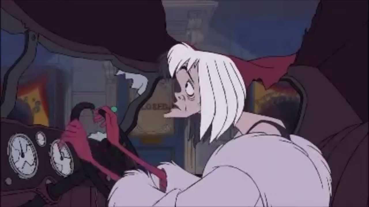 Cruella De Vil Hates Whats Playing On The Radio