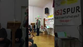 Dennis Skinner's Speech at HS2 Blackwell Group's Meeting - 20.01.18