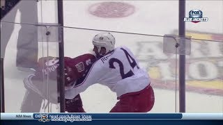 Derek MacKenzie vs Keith Yandle Jan 2, 2014