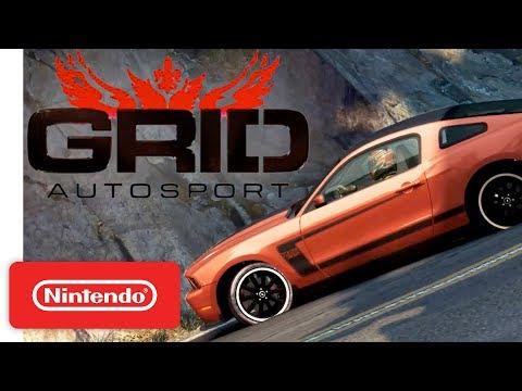 Grid Autosport Nintendo Switch Announcement Trailer