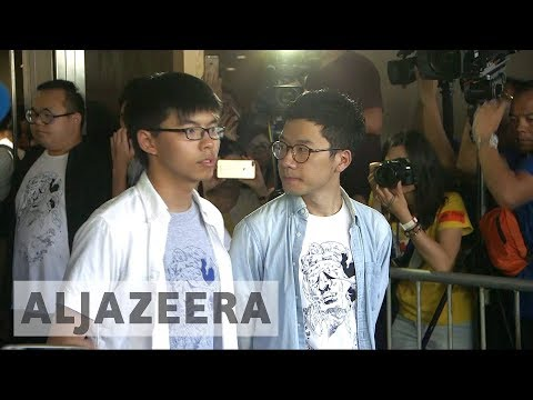 Hong Kong jails Occupy protest leaders
