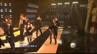 Download 25.10.2009 [1nkigayo] Supernova & T-ARA: Time To Love 2 MP3 song and Music Video