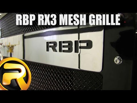 How to Install the RBP RX3 Grille