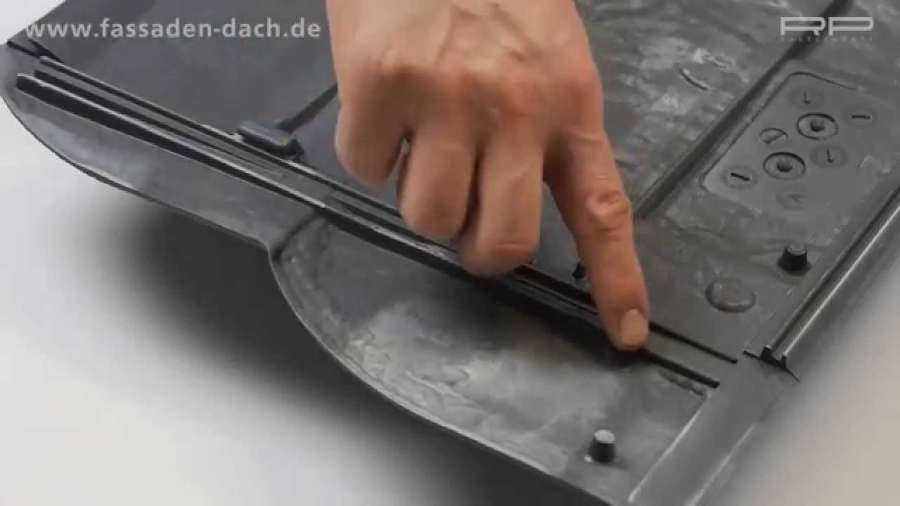Schieferplatten Fassadenverkleidung Fassadenverkleidung In Schiefer Optik - Youtube