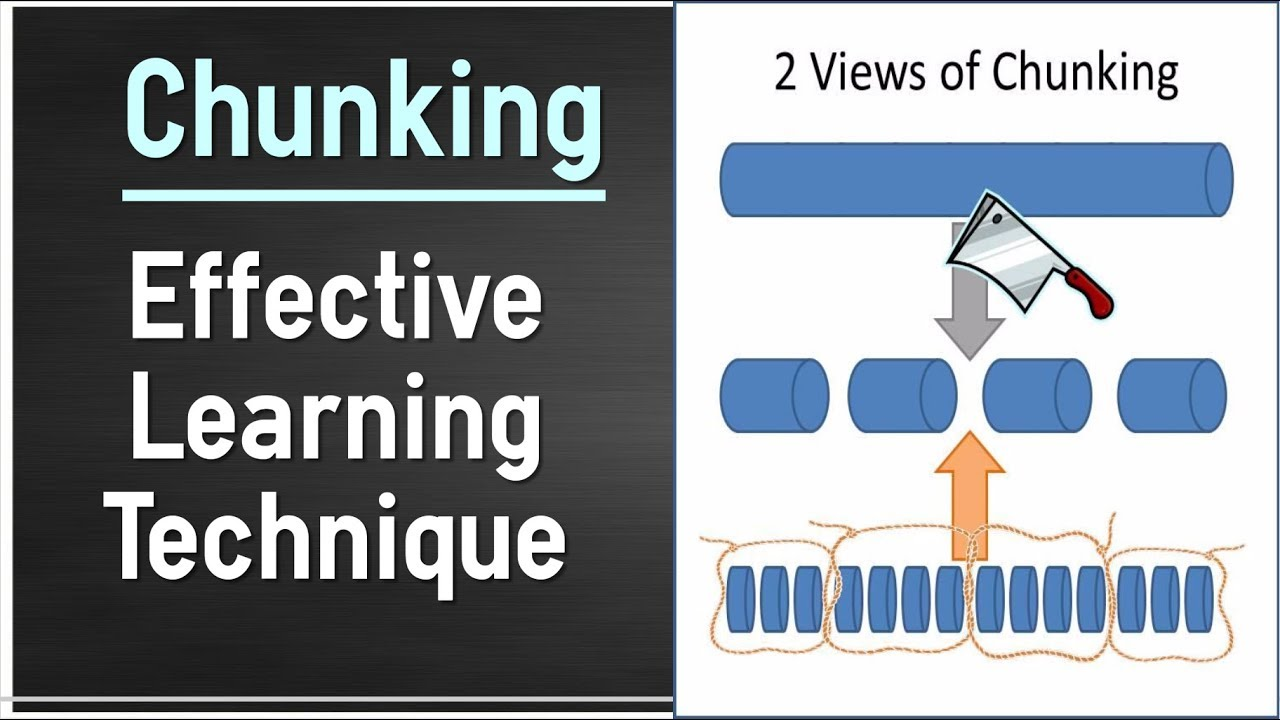 Chunking - Effective Learning Technique To Improve Intelligence