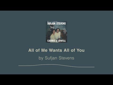 All of Me Wants All of You - Sufjan Stevens lyric video